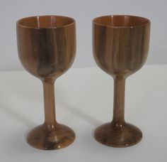 Goblets maple by juergenuhrig on Etsy, $100.00
