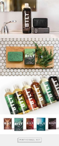 Bilt Mens Skin Care Packaging by Ideas that Kick | Fivestar Branding Agency – Design and Branding Agency & Curated Inspiration Gallery
