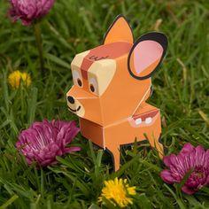 Celebrate Bambi Papercraft