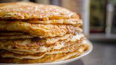 Ha ősz, akkor almát kell enni, ha pedig jót akarunk magunknak, palacsintába sütjük ezt a finom gyümölcsöt. Pancakes For Dinner, How To Make Pancakes, Pancakes Easy, Protein Pancakes, Breakfast Pancakes, No Dairy Recipes, Baking Recipes, Panini Low Carb