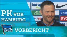 PK vor Hamburg - Dardai - Hertha BSC - Berlin - Bundesliga - 2016 #hahohe