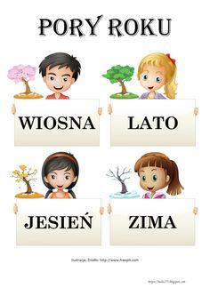 BLOG EDUKACYJNY DLA DZIECI Polish Language, Teacher Inspiration, Kids Education, Kids Learning, Montessori, Poland, Parenting, Comics, Pictures