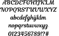 Magnolia Script font by Jovanny Lemonad  http://www.fontriver.com/font/magnolia_script/  #script #fonts #typography #ttf #type #design #webdesign #lettering