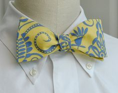 bow tie by CCADesign on Etsy! They are so cute and so affordable!