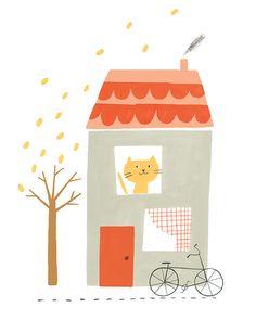 Yellow Cat www.ekaterinatrukhan.com