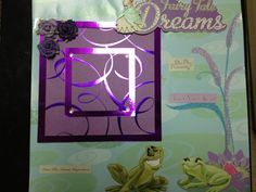 premade Scrapbook Pages  Princess Tiana Disney by mysecrethobby, $16.99