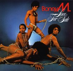 """Love for Sale is the second studio album by Euro-Caribbean group Boney M. The album includes the hits """"Ma Baker"""" and """"Belfast"""". Boney M, Lps, Bad Album, Worst Album Covers, Music Album Covers, Easy Listening, German Tv Shows, Album Covers, Festivals"""