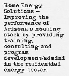 Our Home Energy Solutions staff are here to help you save money on electricity.