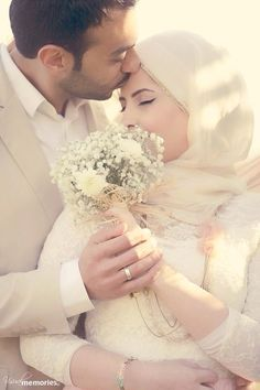 Be kind and loving towards you spouses. inshallah, may you be with them in junnah.