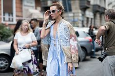 Milan Fashion Week started on the highest of high notes with Gucci's Spring 2017 show on the first day. The unimpeachable king of Italian fashion, Alessandro Michele's designs set the tone for the spring/summer season in Milan — and for Milanese street style. See the best of the best, captured by photographer Evgen Kovalenko, here.
