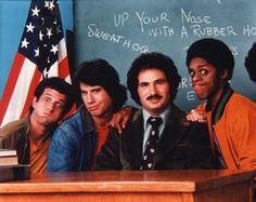 Welcome Back Kotter, up your nose with a rubber hose! lol