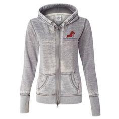 Ladies' Zen Fleece Full-Zip Hooded Sweatshirt
