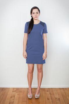 Raglan Tee Dress by ReCreate   Organic Designer Ethical
