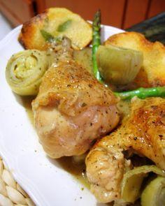 Receta de Pollo en salsa de coco                                                                                                                                                      Más