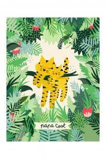 Affiche Papa Cool par Michelle Carlslund - Edition limitée