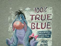 LadyJam - Winnie the Pooh - Eeyore Cute Winnie The Pooh, Winnie The Pooh Quotes, Pooh Bear, Tigger, Eeyore Pictures, Eeyore Quotes, Fairy Tale Story Book, Cover Pics For Facebook, Love Is Cartoon