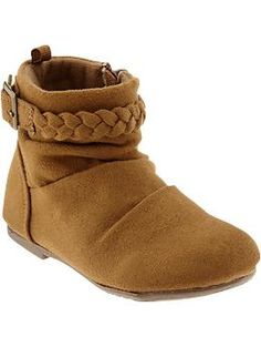 Sueded Ankle Boots for Baby | Old Navy