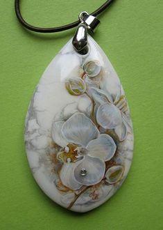 """Кулоны, подвески ручной работы. Ярмарка Мастеров - ручная работа Кулон """"Орхидея."""". Handmade."""