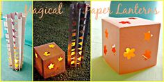 *Kids Crafts*: Cool Nightlight Paper Lanterns!