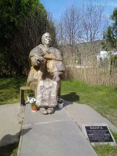 She Developed A Cult-Like Foll is listed (or ranked) 13 on the list Baba Vanga Is The Blind Clairvoyant Freaking Out People With Her Eerily Accurate Predictions Baba Vanga, Bulgaria, Romania, Mystic, Garden Sculpture, Blinds, Blog, Statue, Outdoor Decor
