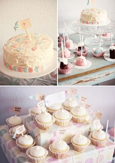 Gender reveal party.