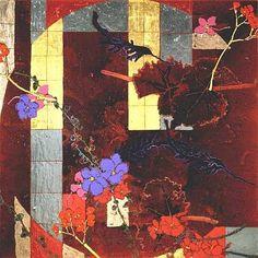 Robert Kushner, Red Flower Scatters Ⅴ