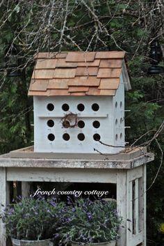 Birdhouse project from Courtney www.frenchcountrycottage.com