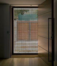 80 Stunning Privacy Screen Design for Modern Home Modern Front Door, Front Door Design, Front Entry, Front Doors, Modern Front Gate Design, Modern Windows And Doors, Timber Front Door, Front Door With Screen, Main Entrance Door Design