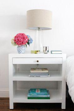 design darling lamps + bedside table