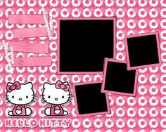 Second-hand Scrapbook Kits Studio Calico Scrapbook Journal, Scrapbook Supplies, Scrapbooking Layouts, Scrapbook Paper, Digital Scrapbooking, School Scrapbook, Hello Kitty Themes, Hello Kitty Pictures, Kitty Images