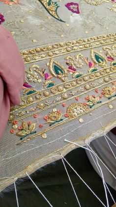 tradition indian embroidery love the colors