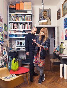 Laureline Galliot et Mathieu Peyroulet-Ghilini (diplômés de l'ENSCI), designers hauts en couleurs