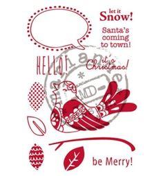 Marianne-Design-Stempel-Elines-Scandinavian-Bird-Weihnachten-Clear-Stamp-EC0155
