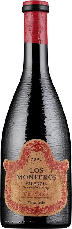Los Monteros Crianza 2013 * Valencia, Wine, Drinks, Bottle, Beverages, Flask, Drink, Jars, Beverage