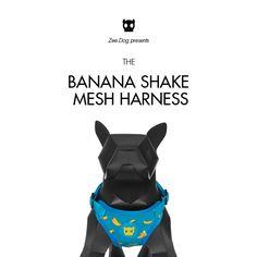Zee.Dog   Banana Shake Air Mesh Harness