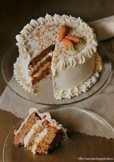 Pastry Recipes, Baking Recipes, Cake Recipes, Dessert Recipes, Pretty Birthday Cakes, Pretty Cakes, Carrot Cake Decoration, Best Carrot Cake, Birthday Cake Decorating