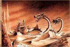The Sea Chariot of Rowenarc