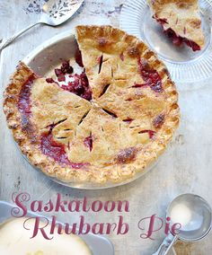 Find cooking inspiration in our database of over recipes, all double-tested by our team of chefs and home economists. Best Rhubarb Recipes, Fruit Recipes, Sweet Recipes, Baking Recipes, Dessert Recipes, Recipies, Healthy Recipes, Saskatoon Recipes, Saskatoon Berry Recipe