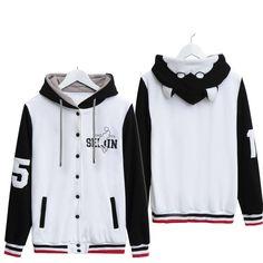 S-2XL [Kuroko's Basketball] Tetsuyaniko Fleece Jacket Coat CP153955