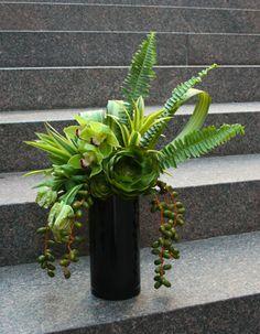 Vibrant Greens Floral Arrangement