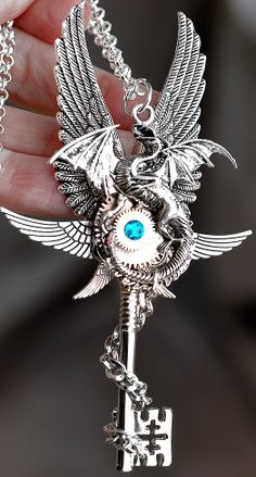 Epic Dragon Key by KeypersCove on Etsy, $45.00…