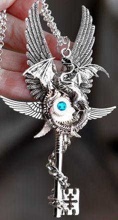 Epic Dragon Key by KeypersCove on Etsy, $45.00…