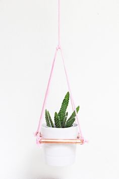 This is now available as a kit in Darby Smart! Pick up your kit to make it at home! So, this bad boy will be in our living room soon (its pictured in my office in these photos) – in that awesome part of our house I call our plant corner– I have a plant …