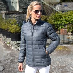 R192F RESULT WOMENS ICE BIRD PADDED JACKET, The Result & Spiro Official Online Store