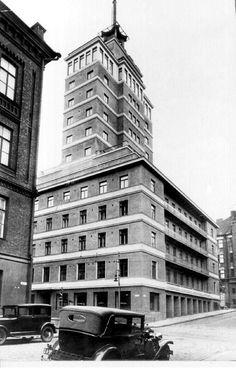 Hotelli Torni, Helsinki, 1930-luvulla.