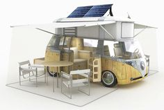 Dreamy dreams. Although, I would have a hard time salvaging my reputation if I had a solar-powered new age vw bus camper.