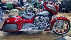 We can get your Indian Chieftain set up subtle or over the top!  Props to DirtyBird
