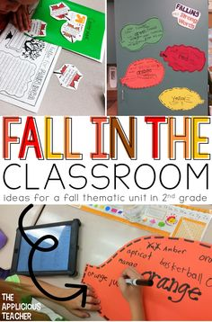 Fall Thematic unit i
