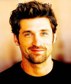 Patrick Dempsey. Love the scruffy look on him <3
