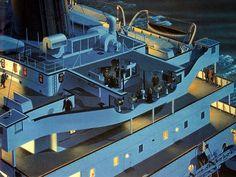 Titanic, Inside view of the bridge, wheelhouse